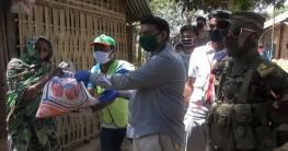 করোনা মোকাবেলায় লক্ষ্মীছড়িতে সেনাবাহিনীর জনসচেতনতামূলক কার্যক্রম