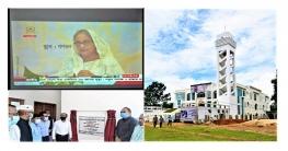 পানছড়িতে মডেল মসজিদ উদ্বোধন করলেন প্রধানমন্ত্রী
