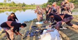 ফেনী নদীতে ১৪০টি কচ্ছপ অবমুক্ত করলো রামগড় বিজিবি