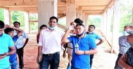 দীঘিনালায় বন্ধ থাকা নির্মাণকাজের অনিয়মের তদন্ত