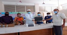 ১৮টি শিক্ষা প্রতিষ্ঠানে ১২ লক্ষ টাকার আইসিটি সামগ্রী বিতরণ