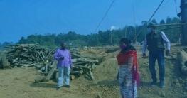 মাটিরাঙ্গায় দুই ইটভাটাকে এক লাখ টাকা জরিমানা