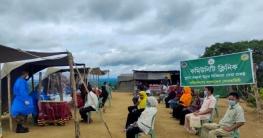 মহালছড়ি সেনা জোনের আওতাধীন পঙ্খিমুড়া এলাকায় চিকিৎসা সেবা প্রদান